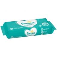 Салфетки влажные Pampers Sensitive, 52шт., детские
