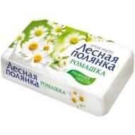 Мыло-крем туалетное Лесная полянка Ромашка, бумажная обертка, 90г