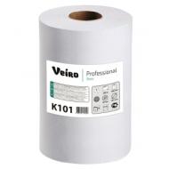 Полотенца бумажные в рулоне Veiro Professional Basic, 1-слойн., 180м/рул, белые