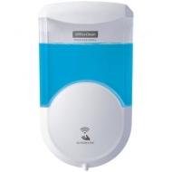 Диспенсер для жидкого мыла Office Clean Professional, наливной, сенсорный, белый, 0.6 л