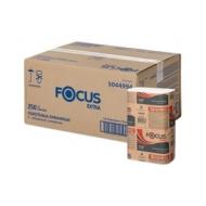 Полотенца бумажные лист. Focus Extra (Z-сл) 1-сл., 250л/пач. 21,5*24см, тисн., белые