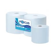 Протирочное индустриал. полотенце для рук в рулоне Focus Jumbo 2-слойная, 350м/рул, 33*35см, голубой