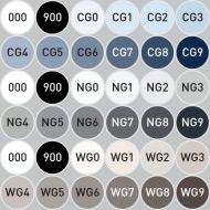"Набор маркеров Stylefile Classic ""Оттенки серого"" 36 шт"