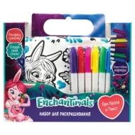 Набор для творчества Enchantimals Бри и Твист, сумка для раскрашивания, маркеры, ORIGAMI, 03444, 4018