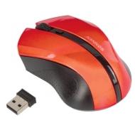 Мышь беспроводная Sonnen WM-250R, USB, 1600 dpi, 3 кнопки + 1 колесо-кнопка, оптическая, красная, 512643