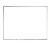 Доска магнитно-маркерная (90х120 см), алюминиевая рамка,  Staff, 235463