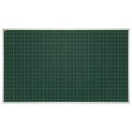 Доска для мела магнитная 85x100 см, зеленая, В КлетКУ, алюминиевая рамка, EDUCATION 2х3, TKU8510K