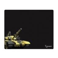 Коврик для мыши Gembird MP-GAME13 Танк, ткань+резина, 437х350х3 мм, черный