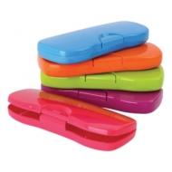 Пенал-футляр Стамм Intensive, пластиковый, непрозрачный, цвет , ПН62