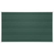 Доска для мела магнитная 85x100 см, Зеленая, под ноты, алюминиевая рамка, EDUCATION 2х3, TKU8510P
