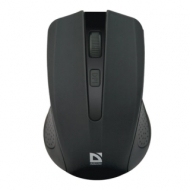 Мышь беспроводная Defender Accura MM-935, 3 кнопки + 1 колесо-кнопка, оптическая, черная, 52935