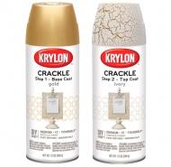 Аэрозольная краска Krylon Crackle с эффектом кракелюр 340 г