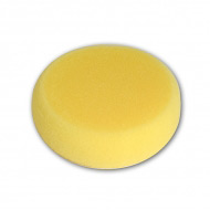 Круглый мелкопористый спонж для аквагрима и макияжа, диаметр 7 см, высота 2,5 см