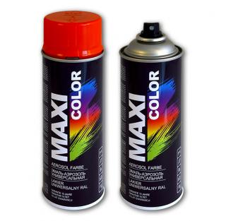 Аэрозольная краска универсальная MAXI COLOR (RAL) алкидная