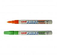 Маркеры перманентные Uni Paint 0,8 - 1,2мм (круглое перо) PX-21