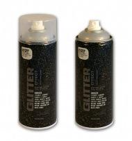 Аэрозольный лак MONTANA с блеск-эффектом серебро