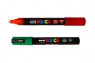 Маркер-фломастер перманентный для детского творчества Uni Posca 1,8-2,5мм (круглое перо) PC-5M