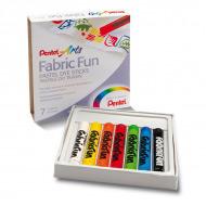 Пастель для рисования на ткани FabricFun Pastels 7 цветов
