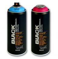 Аэрозольная краска Montana BLACK 400 мл (матовая)