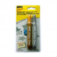 Клеящие блестки UHU Creativ Glitter Glue для украшений