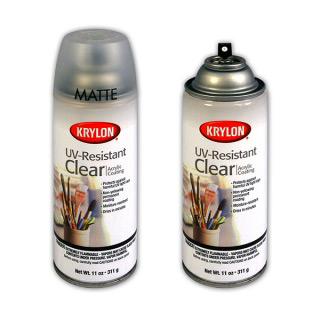Аэрозольный защитный лак KRYLON UV-Resistant Clear